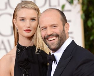 Jason Statham y Rosie Huntington-Whiteley son padres de un niño